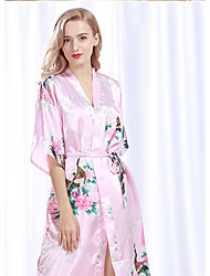 Недорогие -Свежий стиль Банное полотенце,В полоску Высшее качество 100% шелк Полотенце