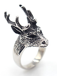 cheap -Men's Ring Jewelry Animal Design Stainless Steel Animal Shape Jewelry For Special Occasion Anniversary Thank You Gift Daily Casual