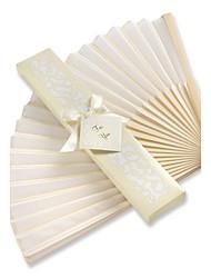 economico -ospite di cerimonia nuziale del ventilatore di seta asiatico i regali di beter giftsbridesmaids di cerimonia nuziale