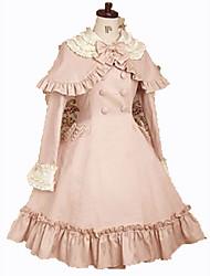 Un Pezzo/Vestiti Gotico Da principessa Cosplay Vestiti Lolita Di tendenza Manica corta Corto / Mini Abito Per