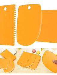 3шт / набор Для торта Пластик Многофункциональный Инструмент выпечки