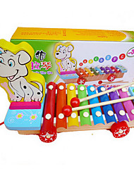 cheap -Building Blocks Toys Dog Wood Pieces Children's Gift
