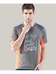 Camiseta de Trilha Secagem Rápida Conjuntos de Roupas para Acampar e Caminhar Verão XL XXL XXXL 4XL 5XL