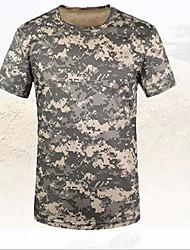 Homens Camiseta de Trilha Não Deforma Camiseta Blusas para Verão