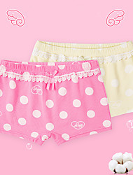 Girls' 2pcs Cotton Underwear Box (3-12 Years Old)