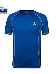 cheap -Men's Hiking T-shirt Outdoor Top Football/Soccer Cycling / Bike Running