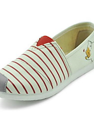 Women's Loafers & Slip-Ons Fashion Fabric Spring Summer Casual Flat Heel Pool Ruby Flat