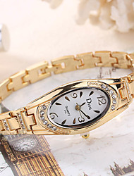 cheap -Women's Wrist Watch Creative / Cool Alloy Band Charm / Luxury / Casual Silver / Gold / Rose Gold