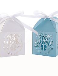 preiswerte -Quader Perlenpapier Geschenke Halter mit Bänder Geschenkboxen