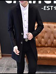 Men's Blazer V Neck Long Sleeve