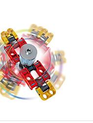abordables -Toupies Fidget Spinner à main Blocs de Construction Nouveautés Ring Spinner ABS Pièces Garçon Enfant Adulte Cadeau