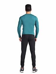 Homme Manches Courtes Sport de détente Snowboard Jupes & Robes Soutien-Gorges de Sport Jupe 3/4 Collants