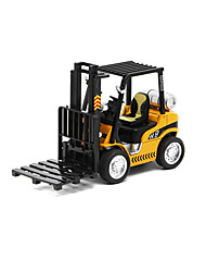cheap -Toy Cars Die-Cast Vehicles Toys Construction Vehicle Forklift Toys Forklift Metal Alloy Pieces Unisex Gift