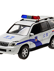 cheap -CAIPO Toy Cars Model Car Police car Toys Simulation Pull Back Vehicles Music & Light Metal Alloy Alloy Metal Pieces Children's Boys' Gift