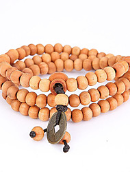 cheap -Men's Strand Bracelet Wrap Bracelet Jewelry Natural Fashion Wood Irregular Jewelry For Special Occasion Gift Sports