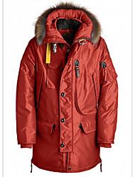 Men's Hiking Down Jacket Thermal / Warm Windproof Top for Snowsports Spring S M L XL XXL