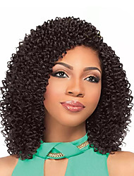 cheap -Braiding Hair Jerry Curl Pre-loop Crochet Braids Human Hair 1pc / pack Hair Braids Brazilian Hair / There are 2 piece in one pack. Normally 5-7 pack are enough for a full head.