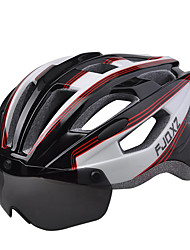 cheap -FJQXZ Bike Helmet Certification Cycling 17 Vents Unisex 1680D Waterproof Material Mountain Cycling Road Cycling Recreational Cycling