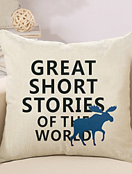 1 Pcs Family Quotes & Sayings Printing Pillow Cover Cotton/Linen 45*45Cm Pillow Case