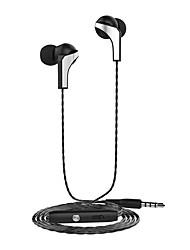Casque langsdom r29 casque écouteur stéréo casque 3.5mm et iphone millet htc ajustez le volume du microphone