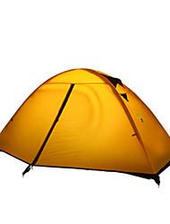 baratos -2 Pessoas Tenda Único Barraca de acampamento Um Quarto Barracas de Acampar Leves Á Prova de Humidade Prova-de-Água Resistente Raios