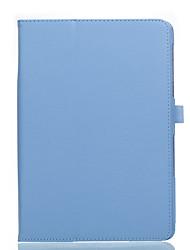 Для крышки корпуса с подставкой флип полный корпус корпус сплошной цвет мягкая кожа pu для huawei m2-a01w / l