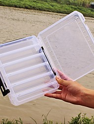"cheap -Fishing Tackle Boxes Lure Box 2 Trays Plastics 20*6 3/4"" (17 cm)*4.5"