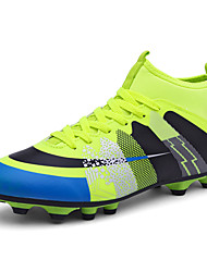 cheap -Unisex Light Soles Faux Leather / PU(Polyurethane) Fall / Winter Athletic Shoes Soccer Shoes Blue / Black / Green / Orange / Black