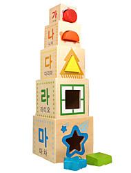 baratos -Blocos de Construir Brinquedo Educativo Blocos Lógicos Brinquedos Quadrada Criança Peças