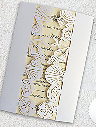 cheap -Gate-Fold Wedding Invitations 50-Bridal Shower Cards Engagement Party Cards Invitation Cards Invitation Sample Mother's Day Cards Baby