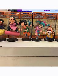 abordables -Las figuras de acción del anime Inspirado por Bola de Dragón Son Goku 8 CM Juegos de construcción muñeca de juguete