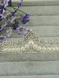 abordables -imitación perla rhinestone aleación tiaras headpiece elegante estilo
