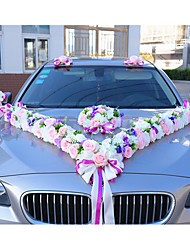 Gorgeous Wedding Ribbons Luxury Floral Wedding Car Decoration Wedding Reception
