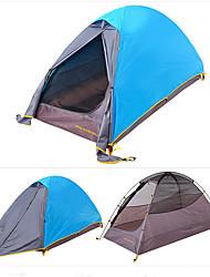 Trackman® 1 personne Tente Double Tente de camping Tente pliable Etanche Pliable A l'Epreuve du Vent Léger 2000-3000 mm pour CM Une pièce