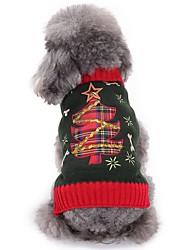 Dog Sweater Dog Clothes Christmas Christmas Christmas Black Costume For Pets