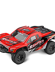 cheap -WLTOYS A313 RC Cars 1:12 Scale 2.4G 2WD 35km/h Rechargeable RC Short Truck Off-road Car RTR