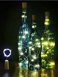 Led Corset Copper Wire Lamp 2 Meters 20 Lamp/Atmosphere Wine Bottle Stopper Lamp