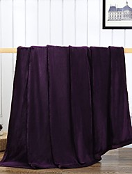 cheap -Super Soft Solid 100% Micro Fiber Blankets