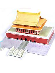 Недорогие -3D пазлы / Пазлы / Бумажная модель Знаменитое здание / Китайская архитектура / Лошадь Своими руками Высококачественная бумага Классика Детские Универсальные / Мальчики / Девочки Подарок