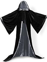 Mago/Strega Costumi da vampiro Cosplay Cappotto Costumi Cosplay Mantello Scopa da strega Stile Carnevale di Venezia Accessori Halloween