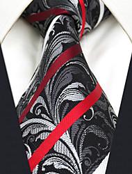 Для мужчин Винтаж Для вечеринки Для офиса На каждый день Офисный Высокое качество Мода Галстук,Все сезоны Шёлк Пейсли