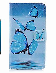 Carcasă Pro Samsung Galaxy S8 Plus S8 Peněženka Pouzdro na karty se stojánkem Flip Vzor Oboustranný Motýl Pevné Umělá kůže pro S8 S8 Plus