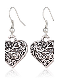 cheap -Women's Drop Earrings - Love / Heart Silver Earrings For Wedding / Party / Daily