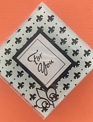 Coaster de vidro favores-2 peças / set vegas tema casamento casamento favores