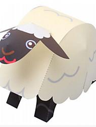 Недорогие -3D пазлы Бумажная модель Оригами Наборы для моделирования Овечья шерсть Животные Своими руками Классика Мультяшная тематика Детские