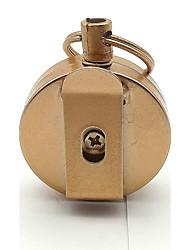 Brinquedos Porta-Chaves Redonda Liga de Metal Peças Unisexo Dom