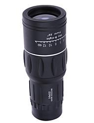 Недорогие -16x52 hd оптический монокулярный наружный наблюдательный обзор кемпинговый туристический телескоп