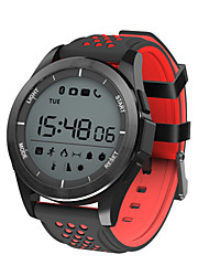 cheap -Smartwatch F3 for iOS / Android Pedometers / Calories Burned / Water Resistant / Water Proof / Information / Camera Control Pedometer / Sleep Tracker / Sedentary Reminder / Alarm Clock / Chronograph