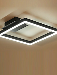 Flush Mount 32W Modern/Contemporary for LED Metal Living Room Bedroom Dining Room Study Room/Office Kids Room