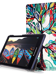cheap -Print Case Cover for Lenovo Tab3 Tab 3 8 850 TB3-850F TB3-850M with Screen Protector